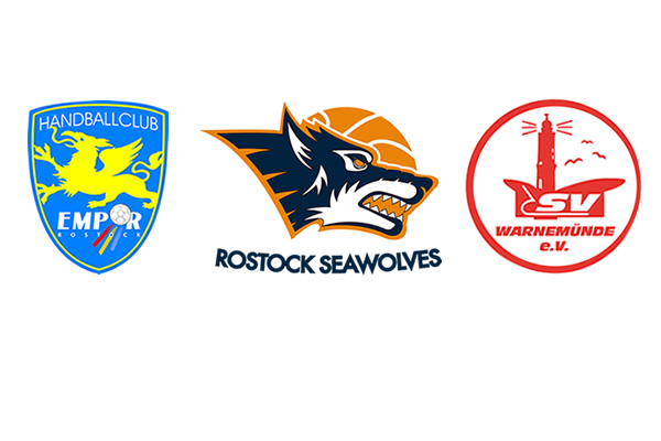 HC Empor, EBC Rostock, Rostock Seawolves, SV Warnemünde Volleyball
