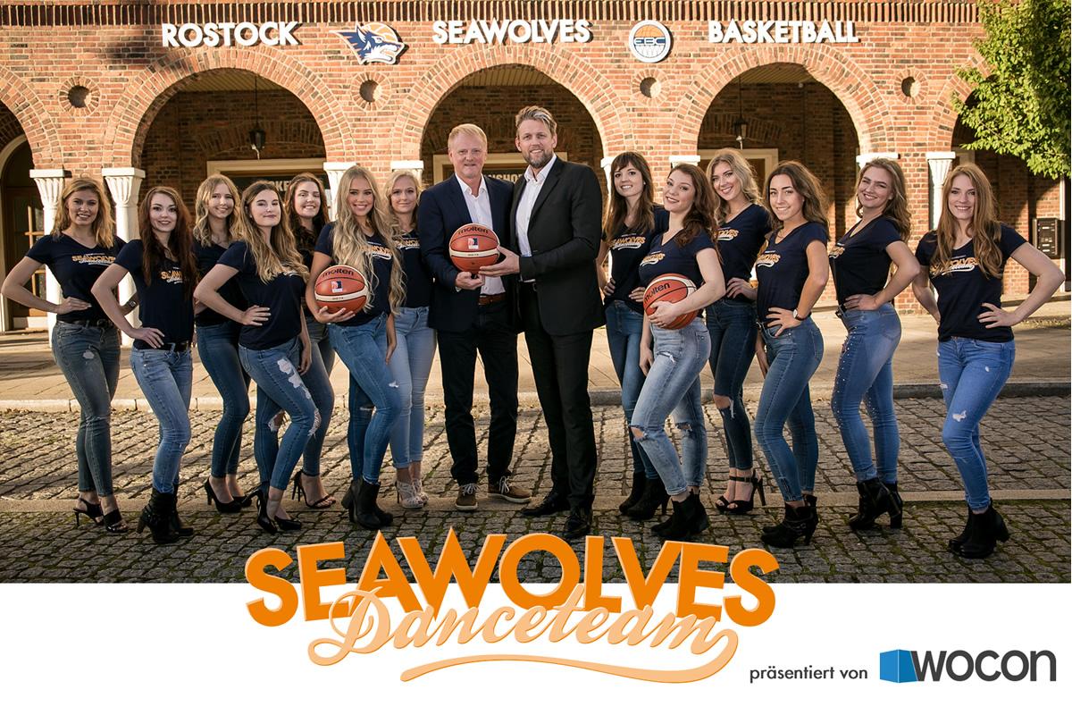 Seawolves Danceteam präsentiert von Wocon